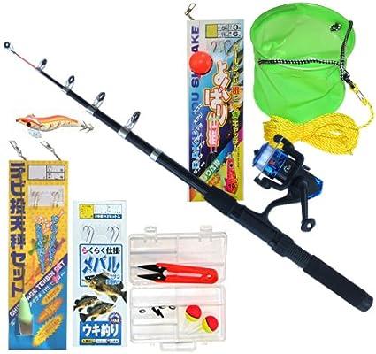 TOISTAX釣具よくばりセット2m釣り竿ロッドリール200Aの画像