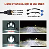 Dot Approved 7Inch Black LED Headlight for