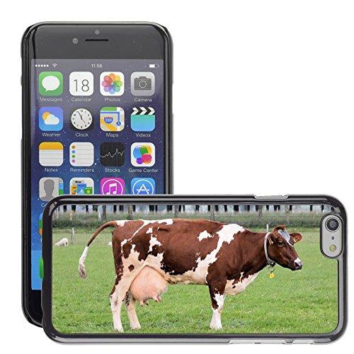 "Just Phone Cases Hard plastica indietro Case Custodie Cover pelle protettiva Per // M00127793 Vache Ferme d'élevage lait animal // Apple iPhone 6 PLUS 5.5"""