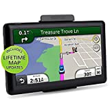 Latest Maps Car GPS Navigation Touch Screen 8GB 7 inch Voice Reminding Vehicle GPS Navigator System with Lifetime Map