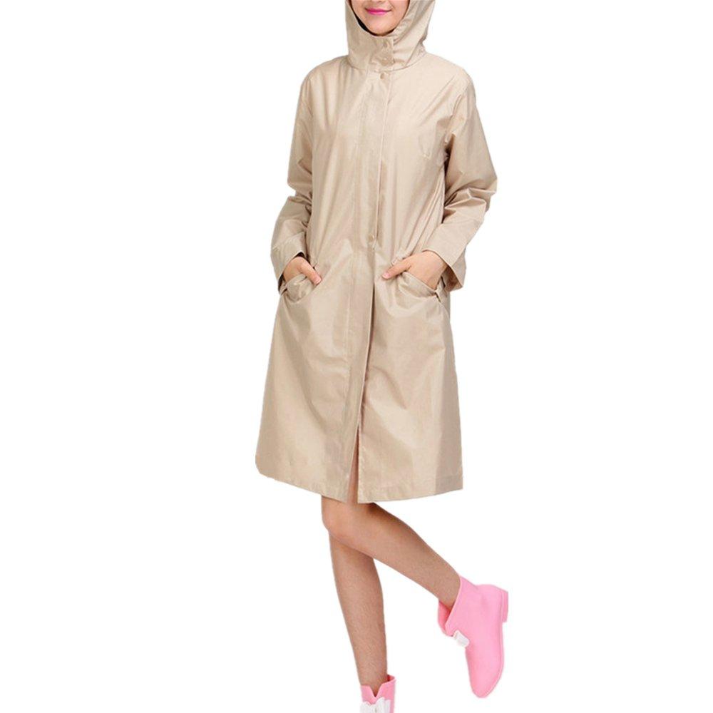 536a539f9a4bb Imperméables pour Femmes Et Manteau De Pluie De Big Girl Zipper LÉGer Veste  Packable Coupe-Vent ...