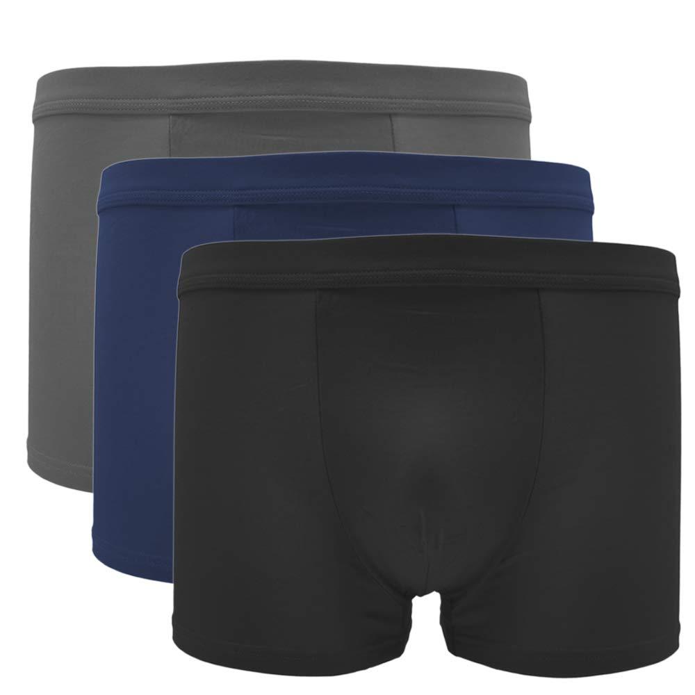 Pau1Hami1ton Boxer Uomo 3//4//5 Pezzi Intimo Traspiranti Elast Mutande Comodo Morbido Pantaloncini B-02