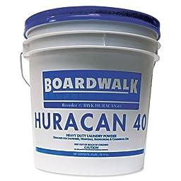 Boardwalk Low Suds Laundry Detergent, Powder, Fresh Lemon Scent, 40 lb. Pail - Includes one each.