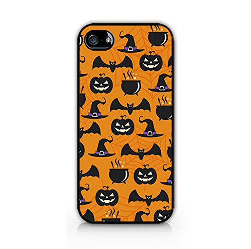 Cream Cookies - Halloween Decorations Patterns - Halloween Icons Background - Apple iPhone 4 Case - Apple iPhone 4S Case - Hard Plastic Case]()