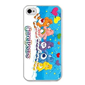 The best gift for Halloween and ChristmasiPhone 4 4s Cell Phone Case White care bears RPR4998429