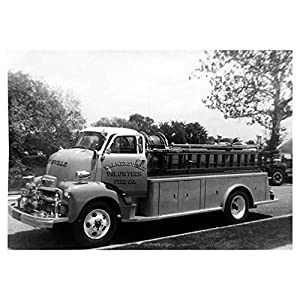 1954 Chevrolet COE Fire Truck Photo Walkersville MD