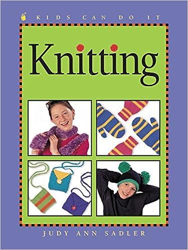 Knitting Kids Can Do It Judy Ann Sadler Esperanca Melo