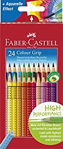 Faber-Castell Grip color pencils 24 (japan import)