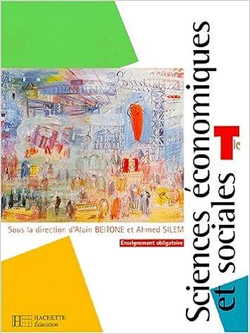 Livre gratuits en ligne Sciences économiques et sociales, terminale ES enseignement obligatoire. Livre de l'élève pdf epub