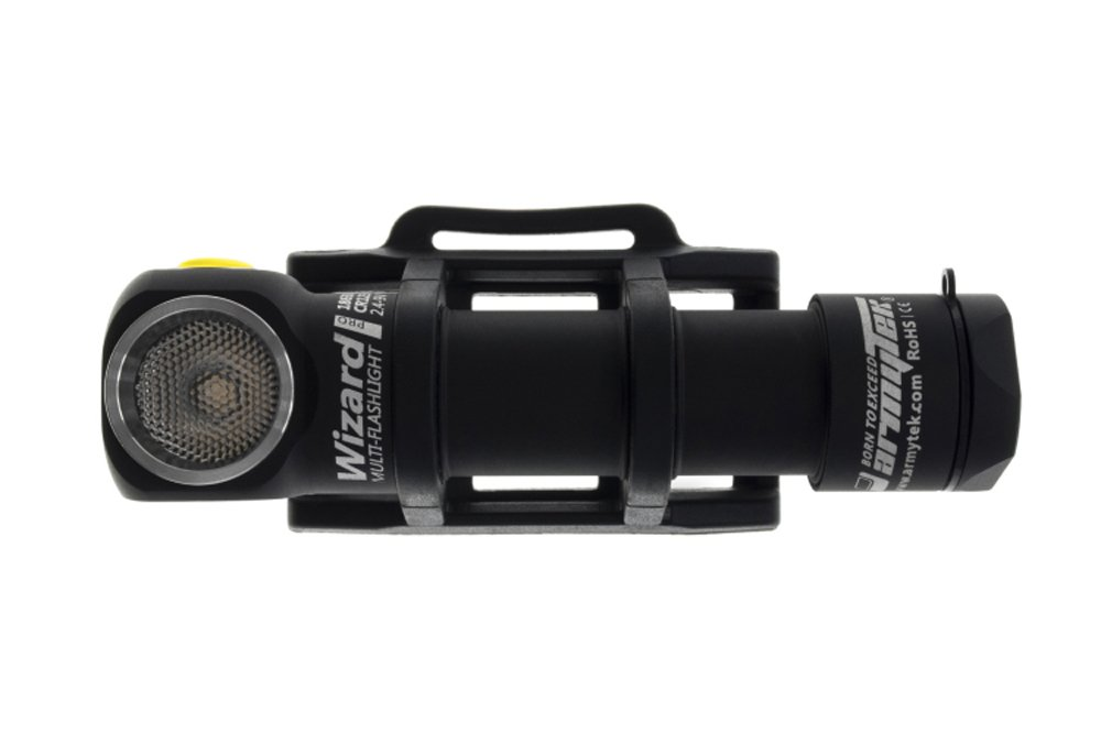 ArmyTek Wizard Pro v3 2300 Lumen Magnetic USB Rechargeable LED Headlamp and BONUS LumenTac Battery Organizer by Armytek (Image #3)