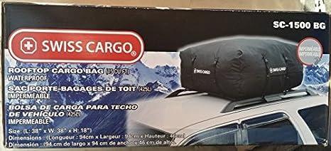 050c0a1f3a72 Amazon.com : SWISS CARGO ROOF TOP CARGO BAG SC-1500-BG by ...