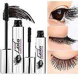 #9: 4D Fiber Lash Mascara by PrettyDiva, Waterproof Liquid Eyelash Extensions Mascara Cream with Crazy-long Silk Fiber - Black