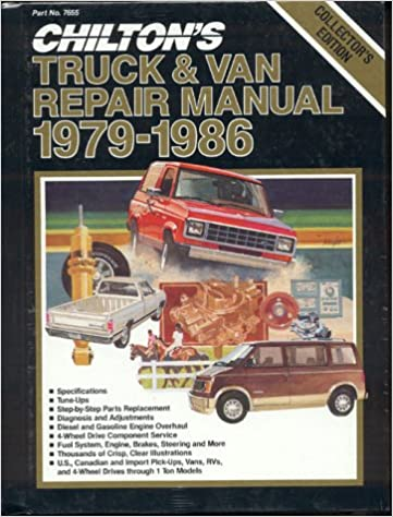 Chiltons truck and van repair manual 1979 86 kerry a freeman chiltons truck and van repair manual 1979 86 1st edition fandeluxe Choice Image