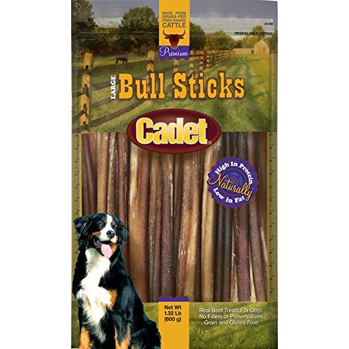Cadet Gourmet Bully Sticks 1.32 Lbs (13-14 Sticks)