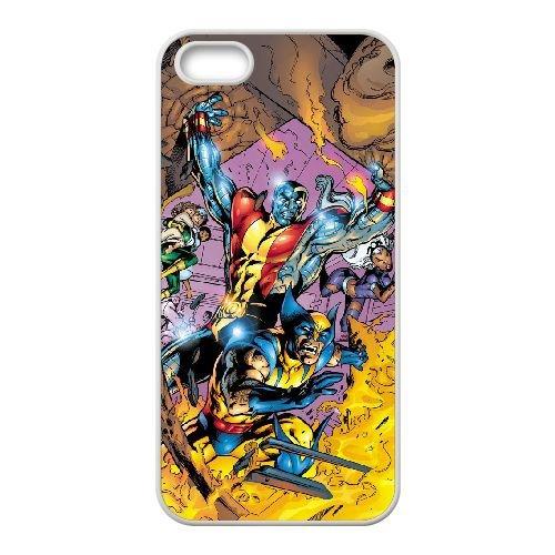 Wolverine 005 coque iPhone 4 4S cellulaire cas coque de téléphone cas blanche couverture de téléphone portable EOKXLLNCD20769