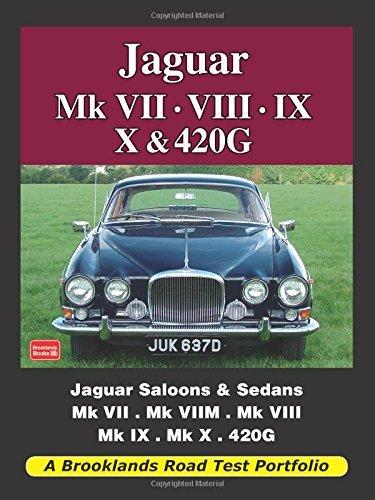 Jaguar Mk Vii, Viii, Ix, X & 420G (Road Test Portfolio) by Brooklands Books Ltd (2009-07-01)