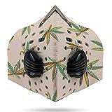 Hemp - Leafs in Ornamental Style. - Jamaica,Face