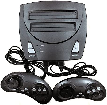 シュミ 互換ゲーム機 クラシック懐かしの家庭用ゲーム機 8ビット・16ビット2in1 一体機