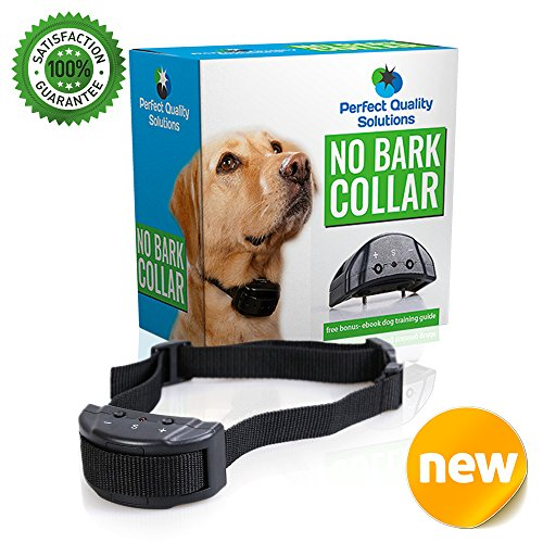 advance no bark collar by perfect quality solution no
