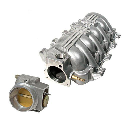 BBK 5006 SSI Series LS1 Intake Manifold Silver w 80mm Vette T Body (Ls1 Ssi Manifold Intake)
