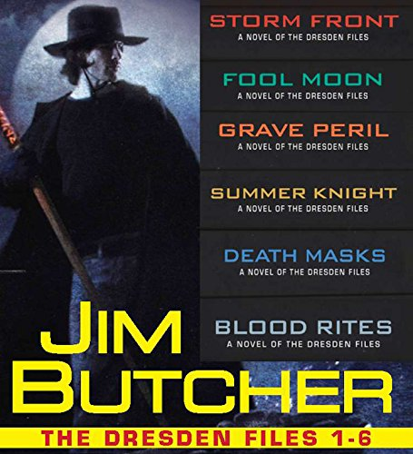 The Dresden Files Collection 1-6 (The Dresden Files Box-Set) cover