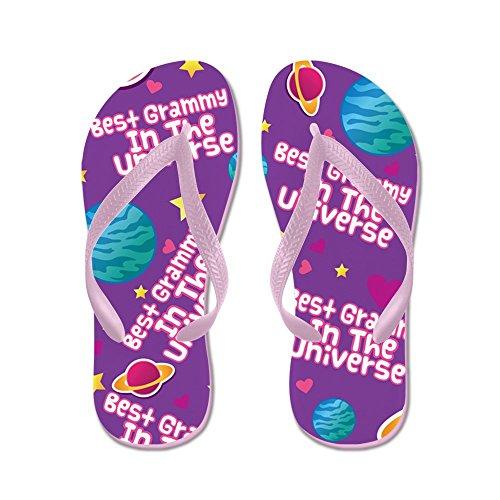 Cafepress Beste Grammy In Het Universum Flip Flops - Flip Flops, Grappige String Sandalen, Strand Sandalen Roze