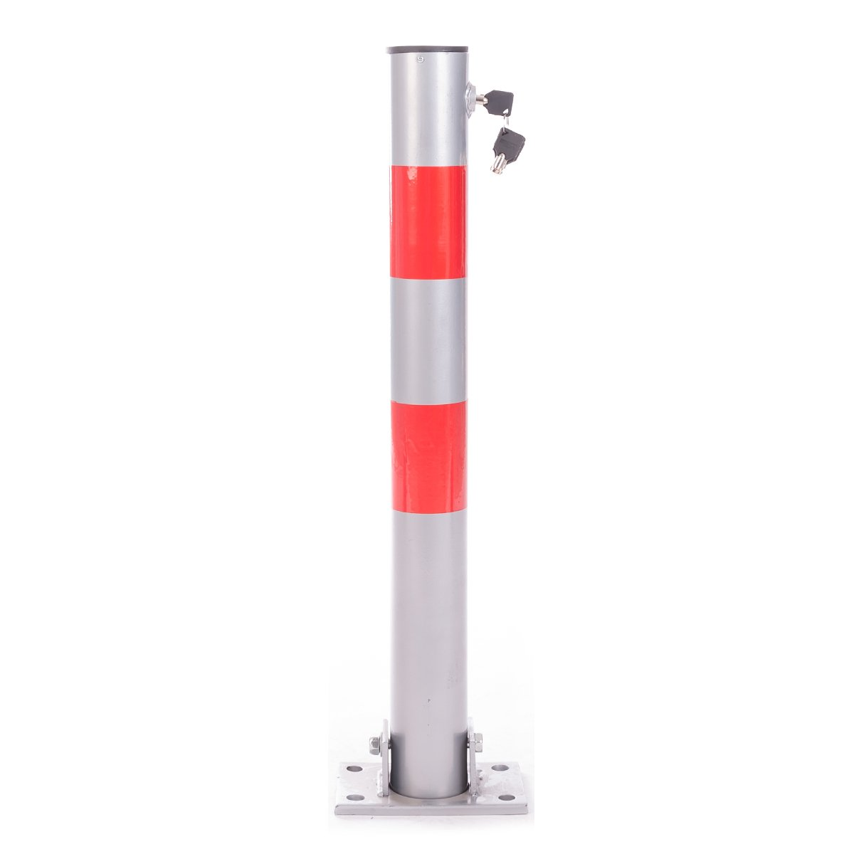 DXP Barreras de aparcamiento de hierro parkybarriers poste plegable para aparcamiento PAS11A