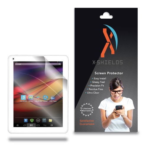 XShields© (5-Pack) Tablet Screen Protectors for Azpen A840 8