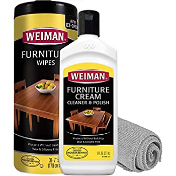 Amazon Com Weiman Wood Cleaner And Polish Wipes Non