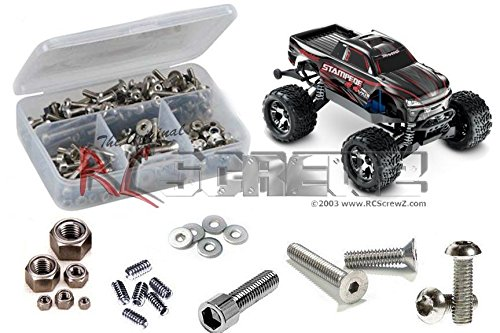 RCScrewZ Traxxas Stampede 4x4 TSM Stainless Steel Screw Kit #tra065