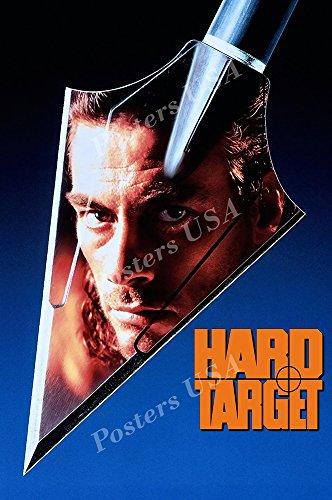 van damme hard target poster - 1