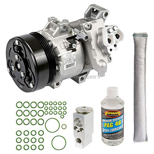 (AC Compressor w/A/C Repair Kit For Suzuki Grand Vitara 2006 2007 2008 - BuyAutoParts 60-81159RK NEW)