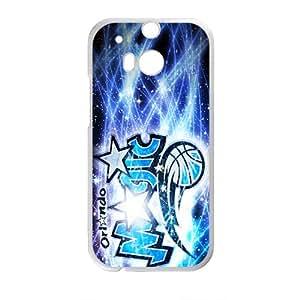 Orlando Magic NBA White Phone Case for HTC One M8