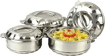 National Hot pot Casserole 3 pcs Set 1000 1500 2500