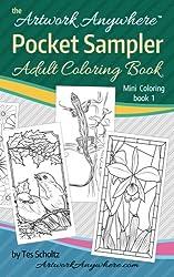 Artwork Anywhere Pocket Sampler: Adult Coloring Book (Mini Coloring) (Volume 1)