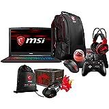 MSI GP63 Leopard-602 Enthusiast (i7-8750H, 16GB RAM, 250GB NVMe SSD + 1TB HDD, NVIDIA GTX 1060 6GB, 15.6 Full HD 120Hz 3ms, Windows 10) VR Ready Gaming Notebook