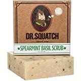 Spearmint Basil Natural Soap for Men – Minty Fresh Soap with Peppermint for a Naturally Clean Rinse – Organic Bar Handmade in