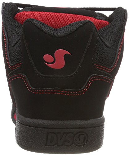 Homme Celsius Black de Nubuck Red Black Noir DVS Shoes Chaussures 030 Skateboard pXggq4