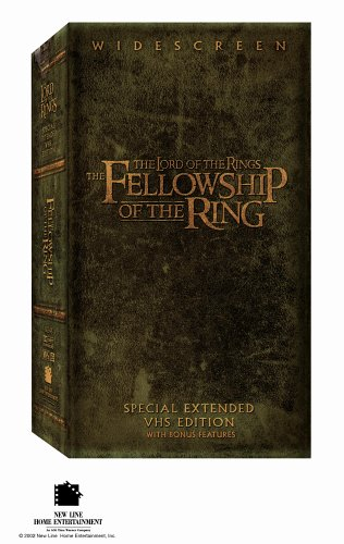 The Lord of Rings: Fellowship of Ring (Special Extended Edition) (Lord Of The Rings Collectors)