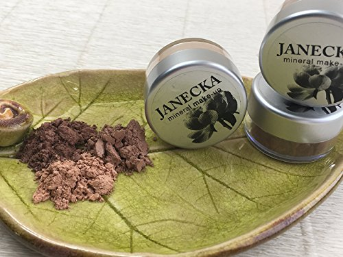 JANECKA Copper Eye Shadow / Mineral Make-Up / Gift Set