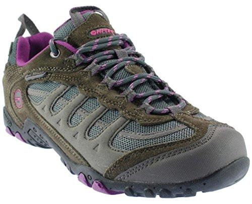 Hi-Tec Penrith Lo Wasserdicht Damen Walking Schuhe, taupe/rosa T779B