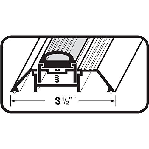 Adjustable Aluminum Door Threshold with Vinyl Seal - #99014 by Custom Door Thresholds (Image #5)