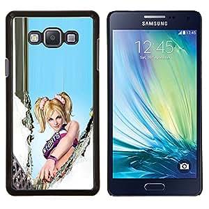 "Be-Star Único Patrón Plástico Duro Fundas Cover Cubre Hard Case Cover Para Samsung Galaxy A7 / SM-A700 ( L0Llipop Chainsaw"" )"