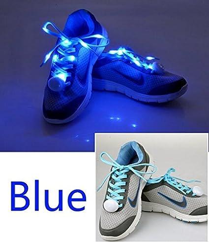 LED Light Up Flashing Shoelaces w