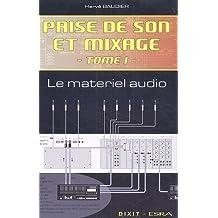 Prise de son et mixage 1