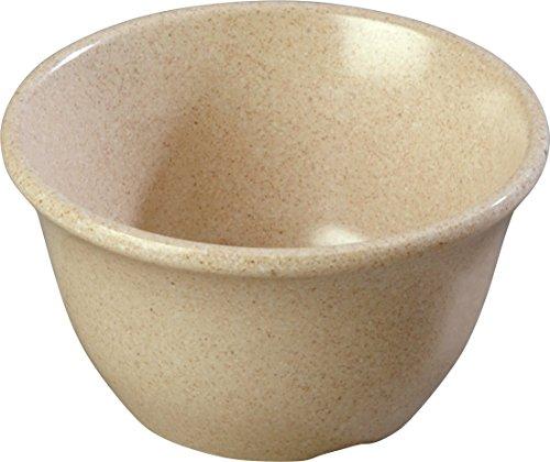 Carlisle 4305071 Durus Melamine Bouillon Cup, 7 Oz., Sand (Pack of 48)