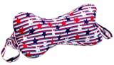 DogBones NeckBones Chiropractic Neck Pillow, Stars 'n' Stripes