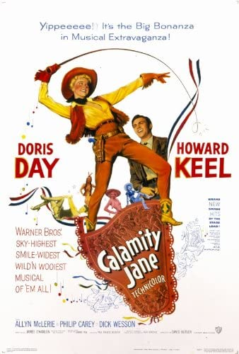 Amazon.com: Calamity Jane Movie Poster (27 x 40 Inches - 69cm x 102cm) (1953)  -(Doris Day)(Howard Keel)(Allyn Ann McLerie)(Dick Wesson): Prints: Posters  & Prints