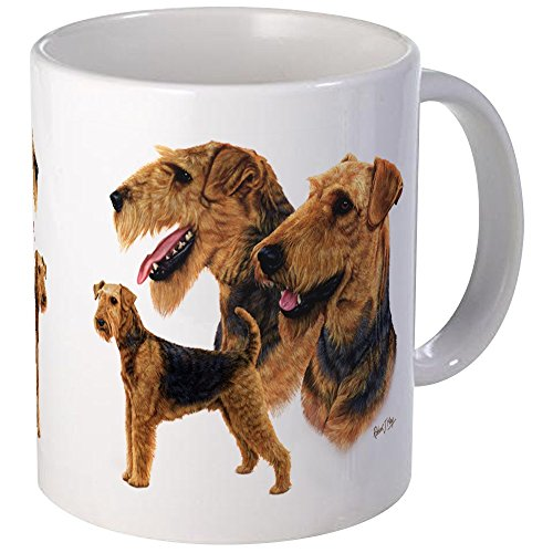 CafePress - Airedale Terrier Mug - Unique Coffee Mug, Coffee Cup