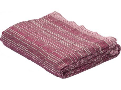 Jaipur Red/Ivory Cotton Throw, 50